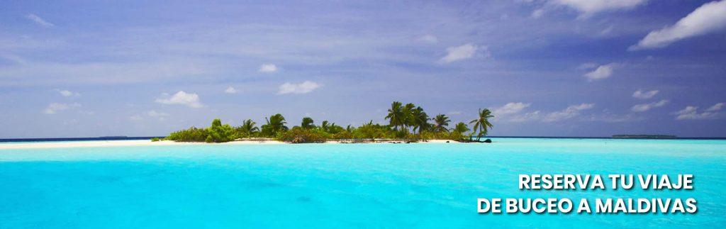 banner reserva viaje de buceo maldivas