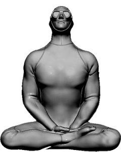 Résilience, estatua perteneciente al Museo Subacuático de Marsella | Résilience de Thierry Trivès (© Wallis - Msm)