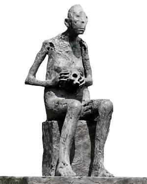 Séléné de Marc Petit, estatua perteneciente al Museo Subacuático de Marsella (© Wallis - Msm)