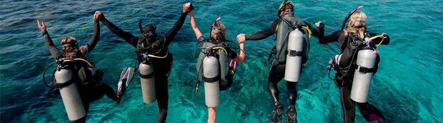 banner cursos open water