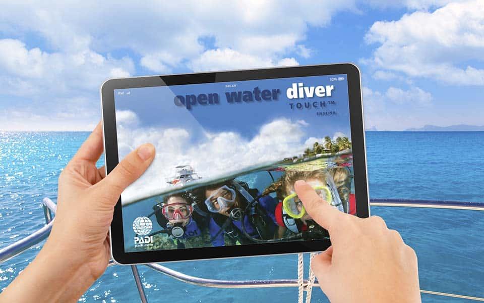 curso padi open water elearning