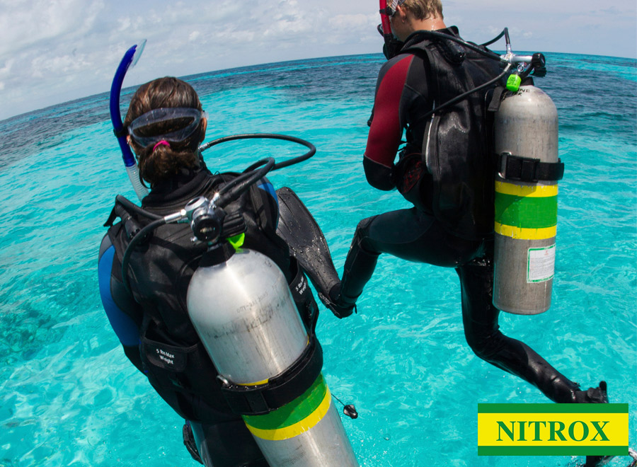 Especialidad de buceo con Nitrox