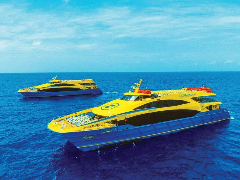 Ferry de Playa del Carmen a Isla Cozumel