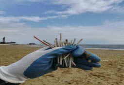 Guantes limpieza de playa