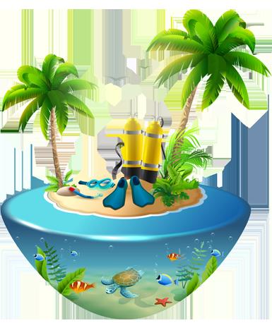 Viaje de Buceo Isla Tropical