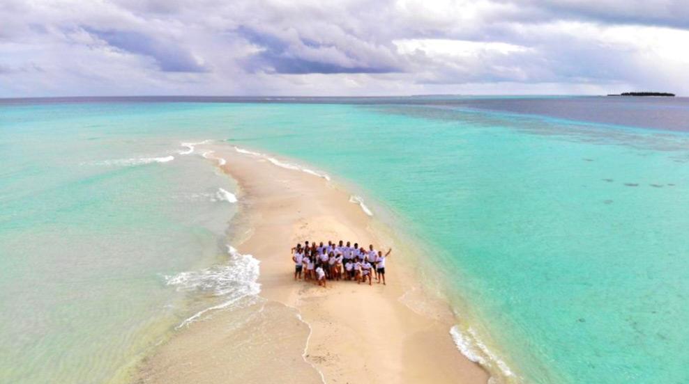 Lengua de Arena en Maldivas