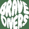 Logo Brave Divers Blanco