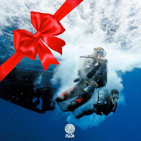 Regala buceo curso Open Water Diver PADI