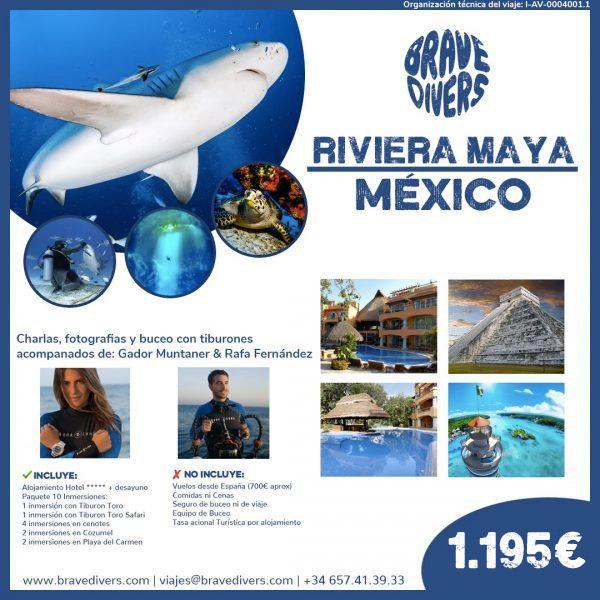 viaje de buceo a riviera maya