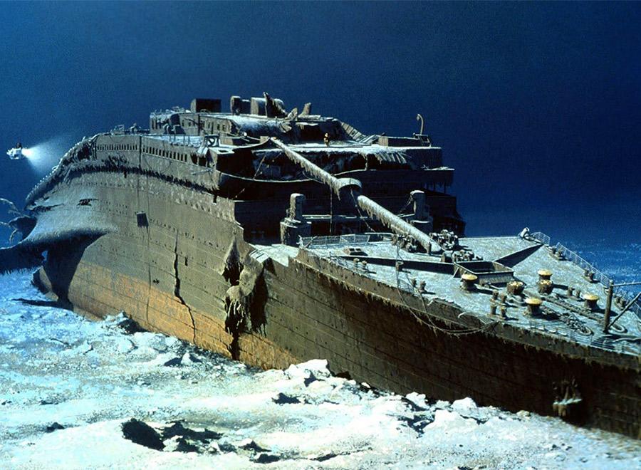 Titanic y otros pecios