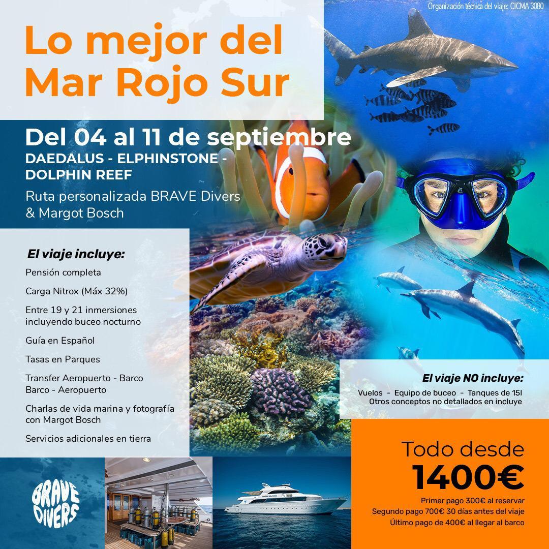 Viaje de Buceo al Mar Rojo Septiembre 2021
